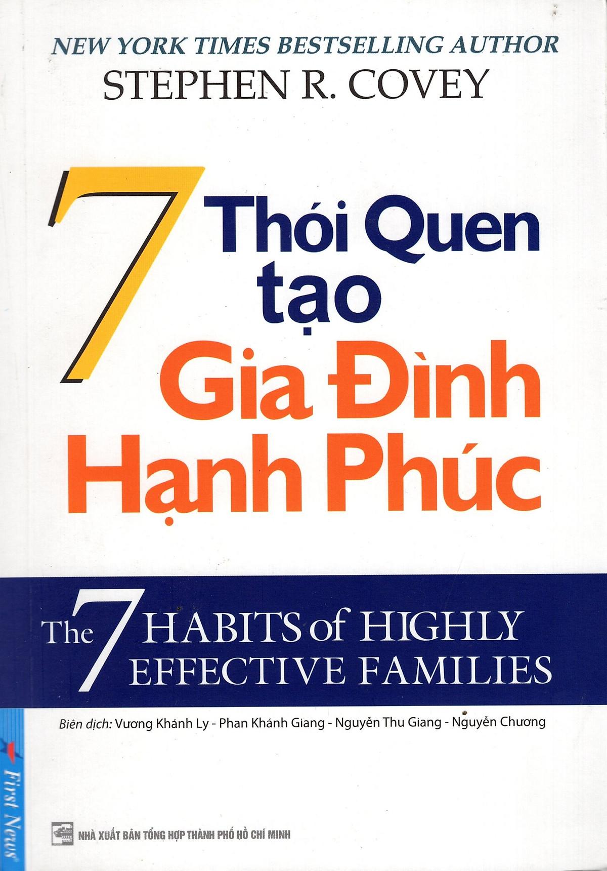 Cơ Hội Giá Tốt Để Sở Hữu 7 Thói Quen Tạo Gia Đình Hạnh Phúc