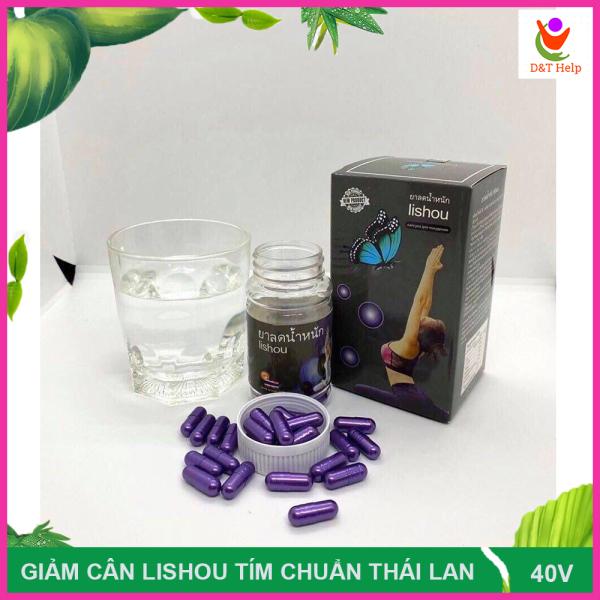 Giảm cân Lishou Phục Linh Tím chuẩn Thái Lan giảm cực mạnh