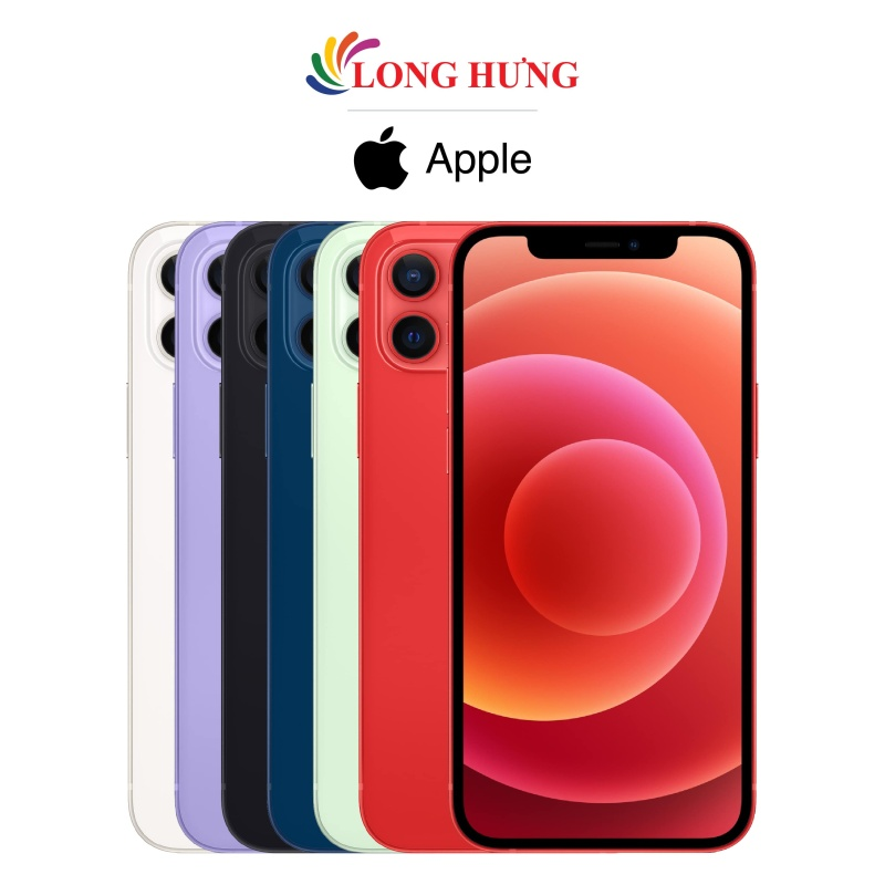 Điện thoại Apple iPhone 12 128GB (VN/A) - Hàng chính hãng - Màn hình 6.1inch Super Retina XDR Camera kép Pin 2815mAh hỗ trợ sạc nhanh