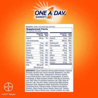 One A Day Women s 50+ hỗ trợ dinh dưỡng và sức khỏe toàn diện cho phụ nữ thumbnail