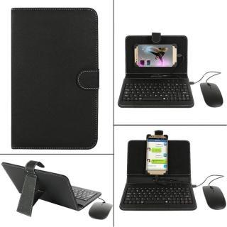 Bao da bàn phím điện thoại KÈM CHUỘT cho hệ điều hành Android cao cấp, bàn phím điện thoại, bàn phím rời thumbnail