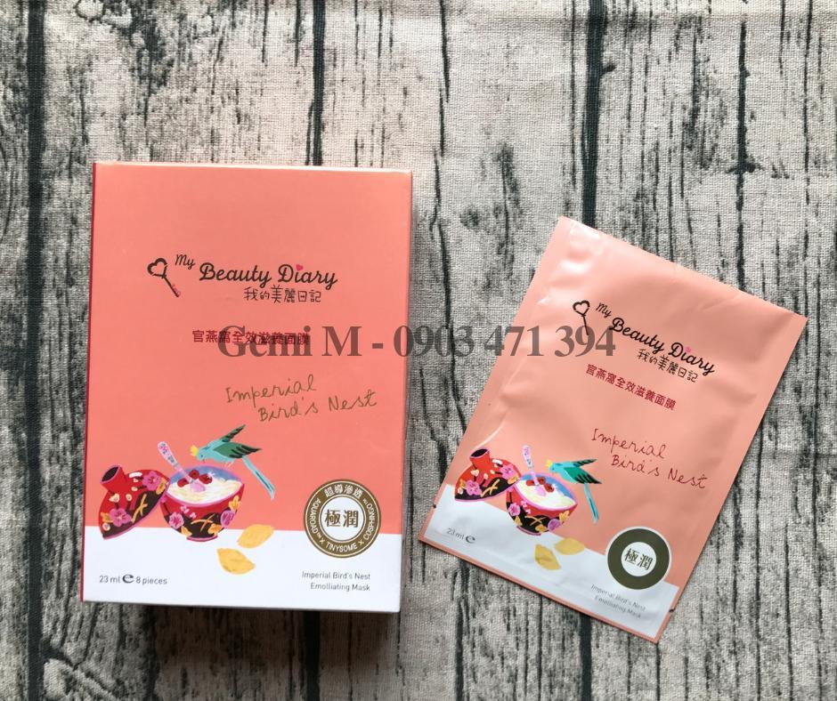 Mặt Nạ My Beauty Diary Tổ Yến Đỏ tốt nhất