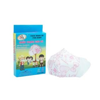 [HCM]Khẩu trang y tế trẻ em kháng khuẩn 3 lớp Famapro 5D Baby hình (10 cái hộp ) thumbnail