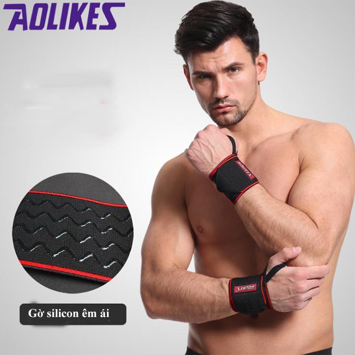 Bảng giá Dây đai quấn cổ tay có móc Aolikes A1541 (1 cặp)
