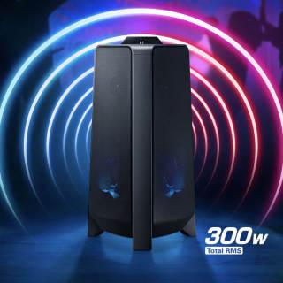 [ SIÊU PHẨM ]Loa Tháp Samsung MX-T40 XV - Công Suất Thực 300W, Âm Trầm Mạnh Mẽ Với Tính Năng Bass Booster Bùng Nổ Hết Mình Với Những Giai Điệu Mạnh Mẽ Lan Toả, Lấp Đầy Mọi Không Gian Rộng Lớn. thumbnail