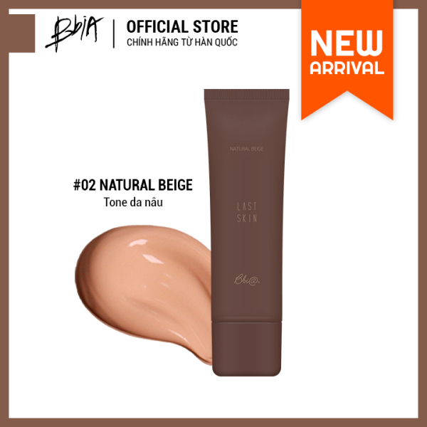 [Mới] Kem Nền Tự Nhiên Bbia Last Skin 50ml ( 3 màu lựa chọn ) giá rẻ