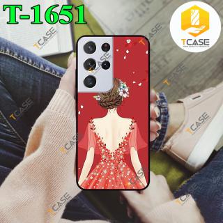 [HCM]Ốp lưng SamSung Galaxy S21 Ultra 5G in hình Cô gái thumbnail