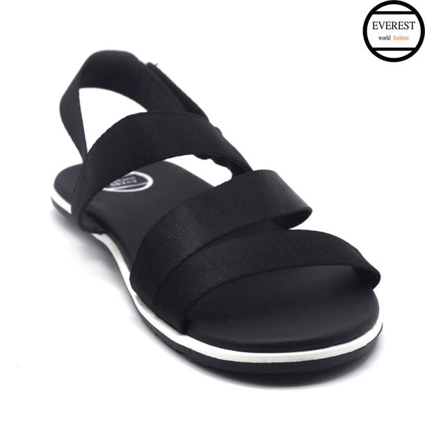 Giày sandal nam quai ngang, sandal trẻ trung thời trang Everest (Đen) A705 giá rẻ