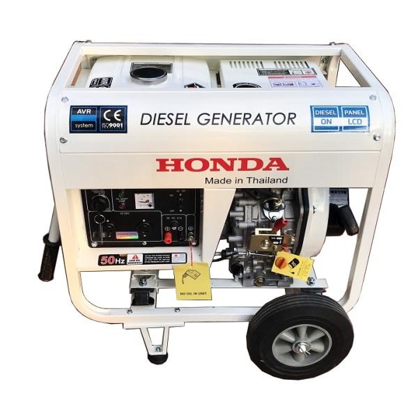 Máy Phát Điện Honda Chạy Dầu 5Kw HD6900E