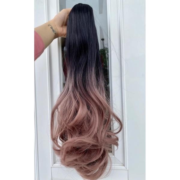 tóc giả ngoặm omber ❤️FREESHIP ❤️ngoặm xoăn giá rẻ