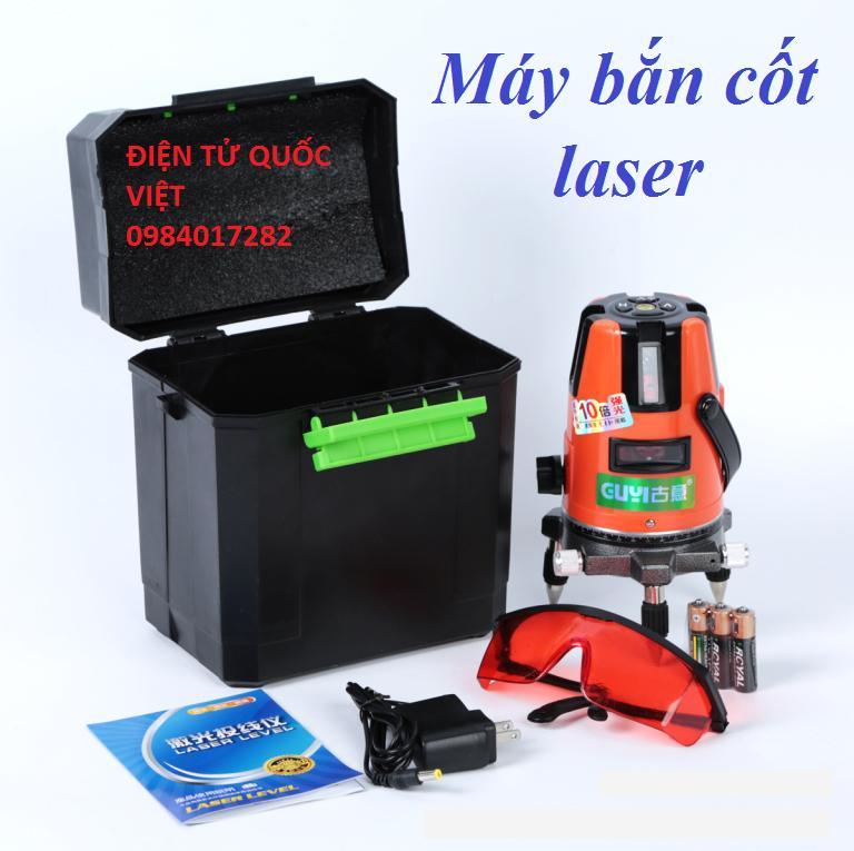 Máy bắn cốt laser 5 tia đỏ tặng kèm chân 1,2m