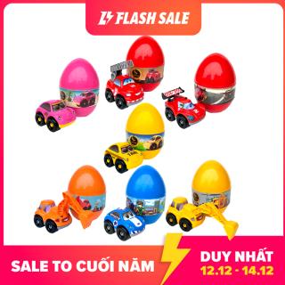 Quả Trứng Ô Tô Thần Kỳ Loại Lớn Hàng Việt Nam Cho Bé (Màu Ngẫu Nhiên) thumbnail