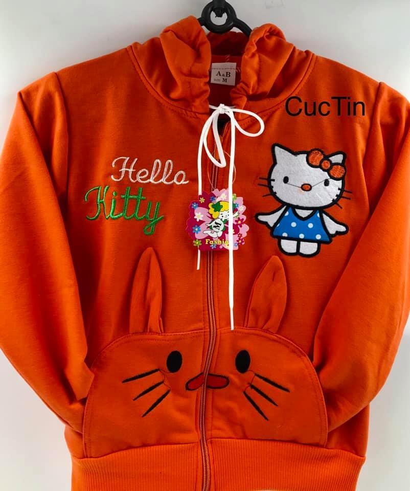 Áo khoác,thun dày co dãn 4 chiều  bé gái, (20kg- 30kg,(đã bán 599 áo)CUCTIN