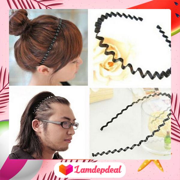 ♥ Lamdepdeal - Combo 2 cài tóc gợn sóng - Dụng cụ làm tóc