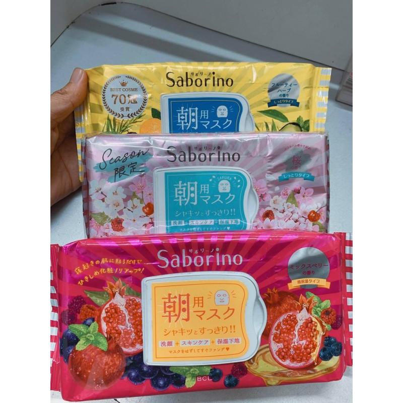 Mặt nạ buổi sáng tối Saborino Morning Mask giá rẻ