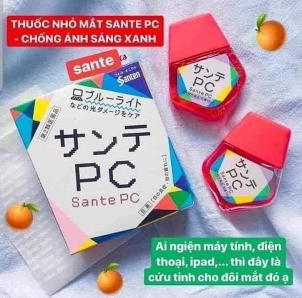 Dung dịch nhỏ mắt SANTEN 𝐒𝐀𝐍𝐓𝐄 𝐏𝐂 [12ml] - nhỏ mắt sante - 1