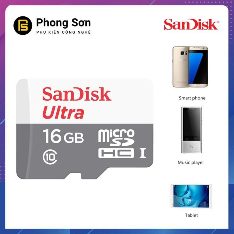 Thẻ nhớ Micro SDHC 16GB Ultra 533x 80mb/s Sandisk