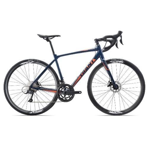 Mua Xe đạp đua GIANT 2019 SCR DISK Xanh Cam