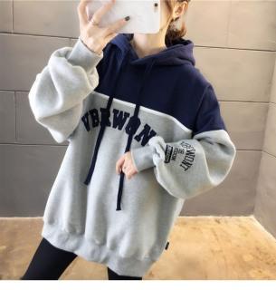 [HCM](FREESHIP TOÀN QUỐC) Áo hoodie phối màu chất nỉ ấm áp mẫu mới của V&A STORE Áo hoodie tay dài có nón thumbnail