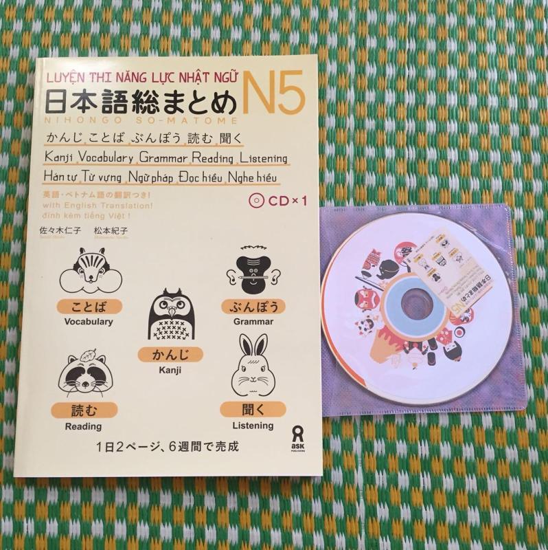 Mua Somatome N5 bản tiếng việt có kèm CD