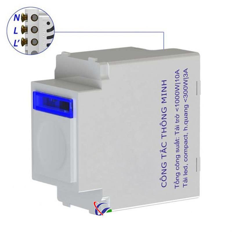 Hạt công tắc cảm ứng điều khiển từ xa BTX-3PF-TIRFV1 (Hạt pana full)