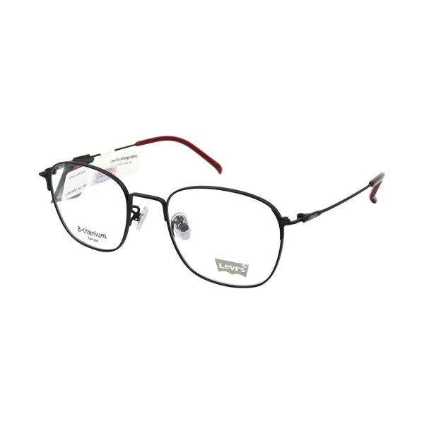 Giá bán GỌNG KÍNH UNISEX HIỆU LEVIS LS07024-C01 ĐEN- ĐỎ