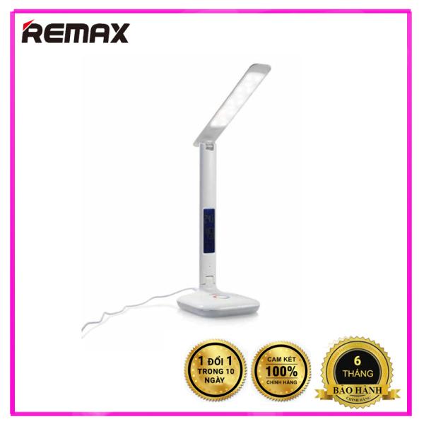 [BẢO HÀNH CHÍNH HÃNG] Đèn LED để bàn thông minh Remax RL-E270 - Đồng hồ thông minh - Trang bị chống cận