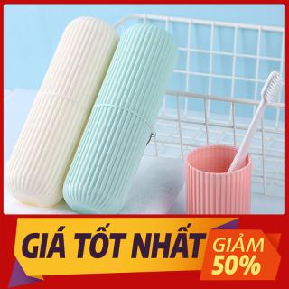 SIÊU RẺ Hộp đựng bàn chải kem đánh răng, Hộp đựng du lịch, Ống đựng đồ Korea đa chức năng tiện dụng thumbnail