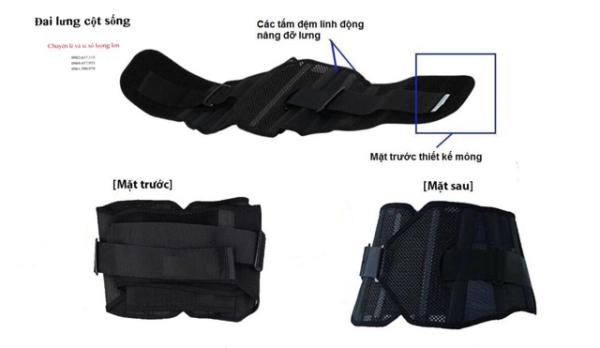 Đai lưng cột sống SON YOUNG HÀN QUỐC,Đai lưng cố định cột sống thắt lưng cải thiện thoát vị đĩa đệm bảo vệ cột sống thắt lưng.