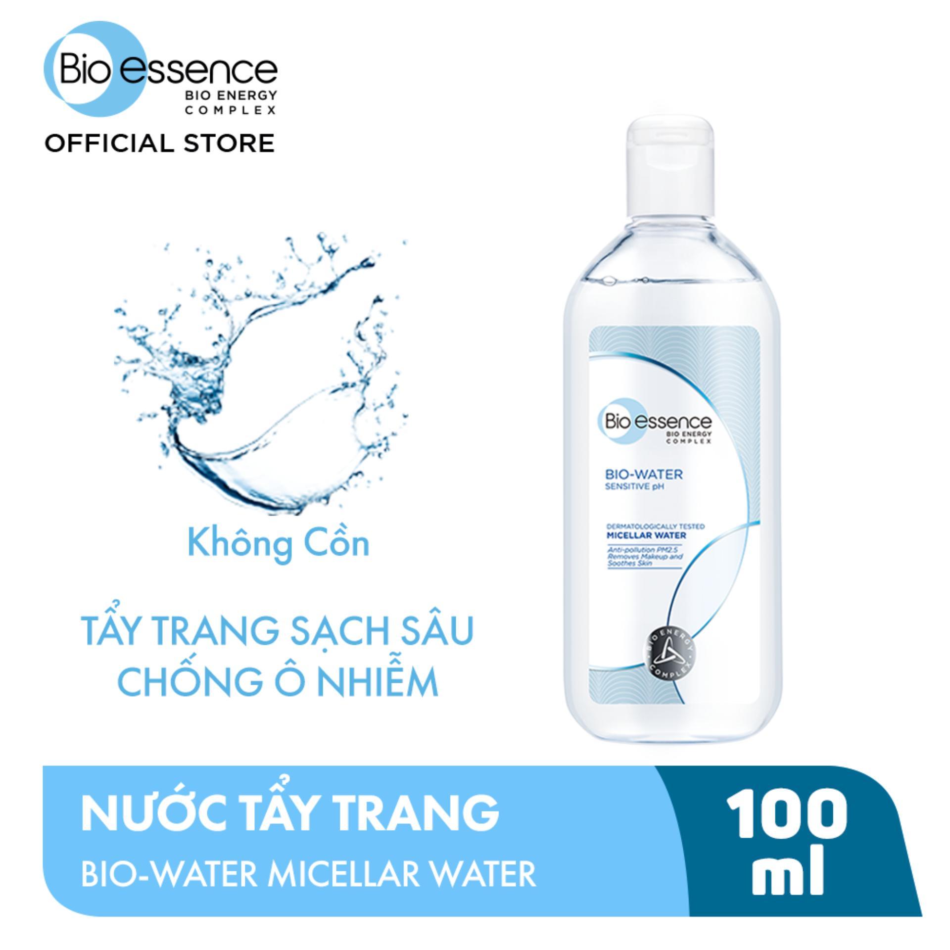 NƯỚC TẨY TRANG ẨM MƯỢT MỊN MÀNG BIO-ESSENCE WATER MICELLAR WATER 100ML tốt nhất