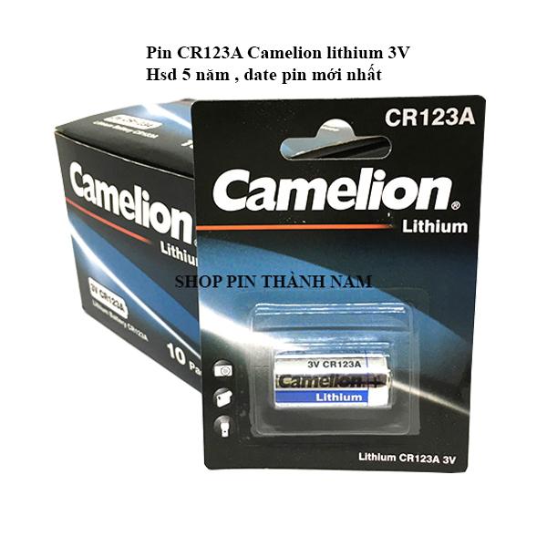 Bảng giá Pin CR123A Camelion lithium 3V chính hãng