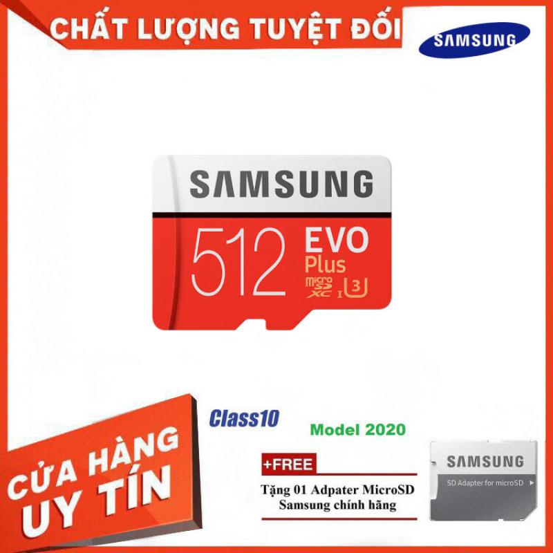 [Bán Lỗ] Thẻ Nhớ MicroSDXC Samsung EVO Plus U3 512GB 100MB/s MB-MC512H - Hàng Chính Hãng