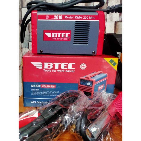 Máy hàn BTEC MMA-200 Mini. tiết kiêm điện