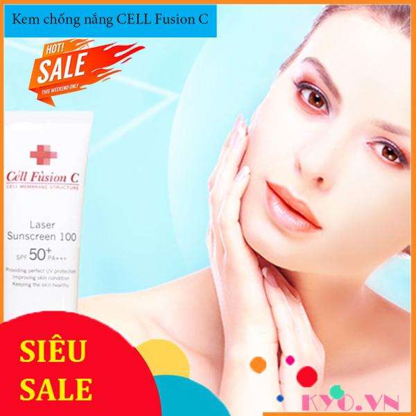 Kem Chống Nắng CELL FUSIONC - Ngăn chặn tác hại của tia UV trên mọi bề mặt da và mọi góc độ, Dễ dàng làm sạch với sữa rửa mặt 1 đánh giá
