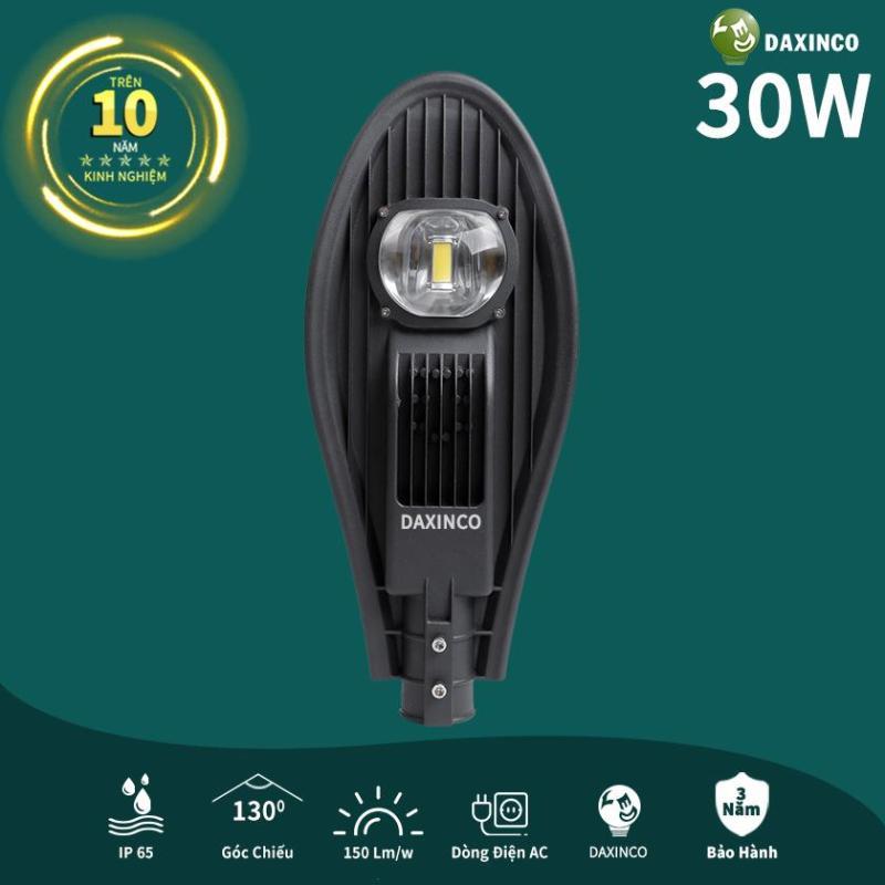 Đèn đường LED 30W Daxinco kiểu chiếc Lá