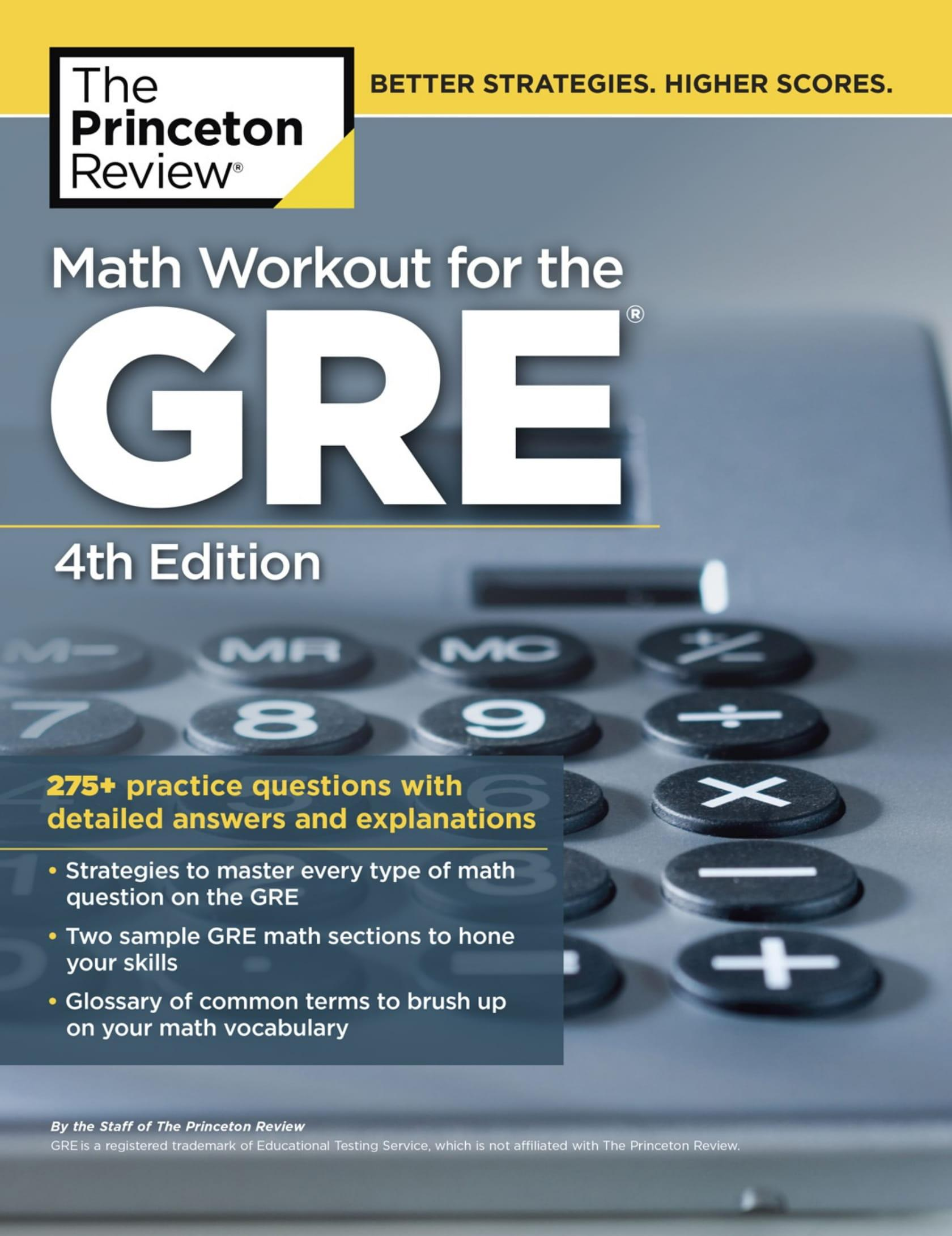 Mua Math Workout for the GRE, 4th Edition
