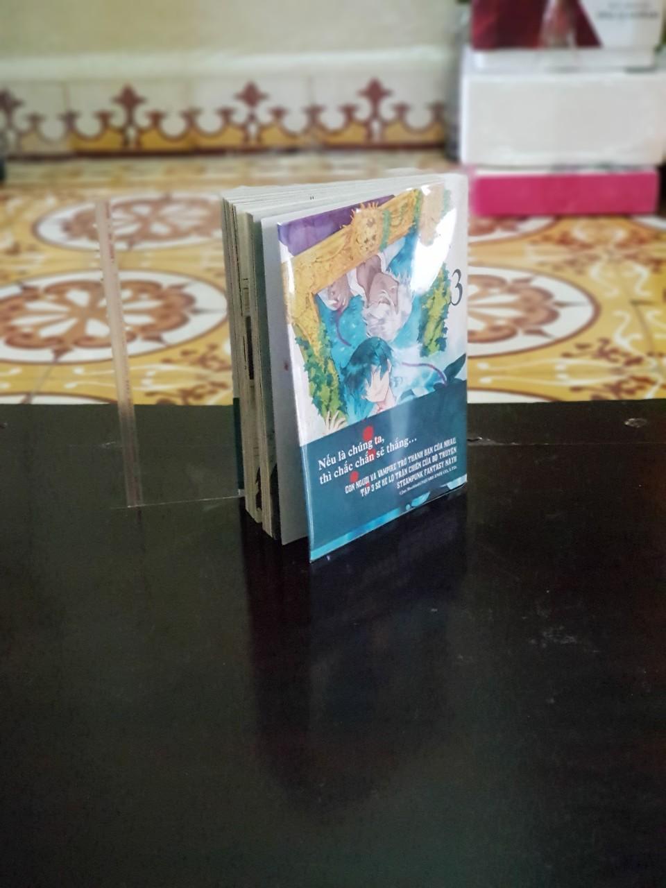 Mua Bọc bìa, bao bìa truyện tranh (khổ 13x18cm) mã sp: TPS (combo 10 cái)