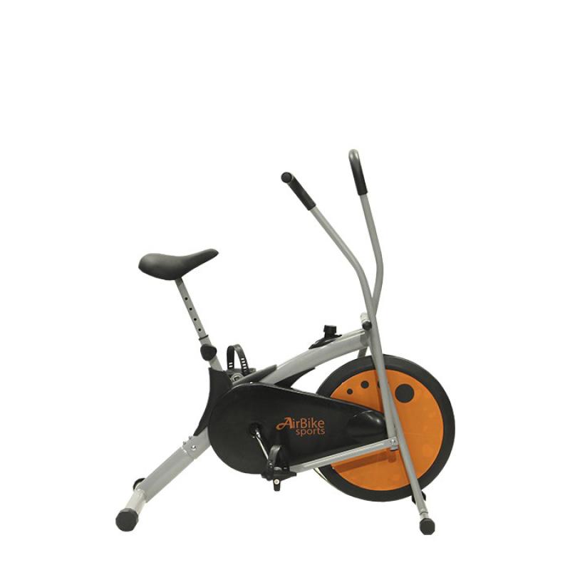 Xe đạp tập thể dục Air Bike MK77 - Bánh đà màu cam