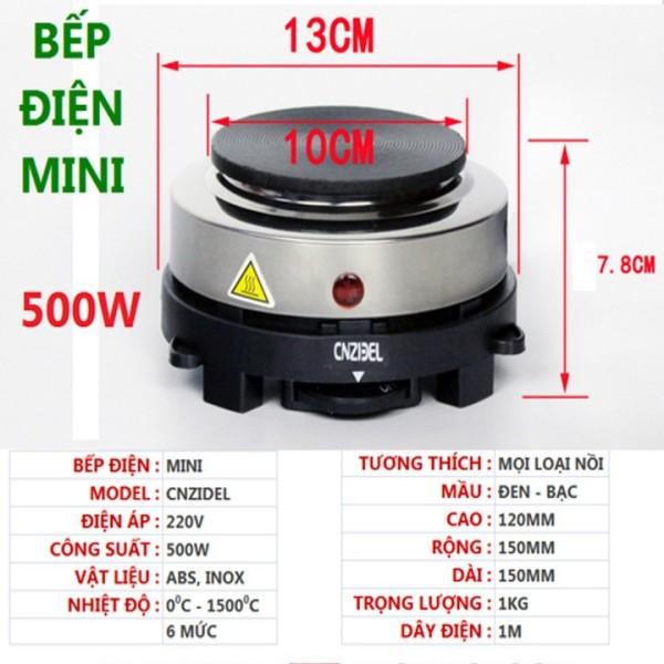 Bếp điện mini 500w nắp gang, Bếp điện mini 500W pha cafe, pha trà, Bếp điện mini 500w - Bếp đun cafe - Bếp nấu cà phê - Bếp pha cà phê - Bếp đun nước - Bếp điện từ - Bếp điện mini - Bếp mini điện - Bep dien - Bếp điện từ.