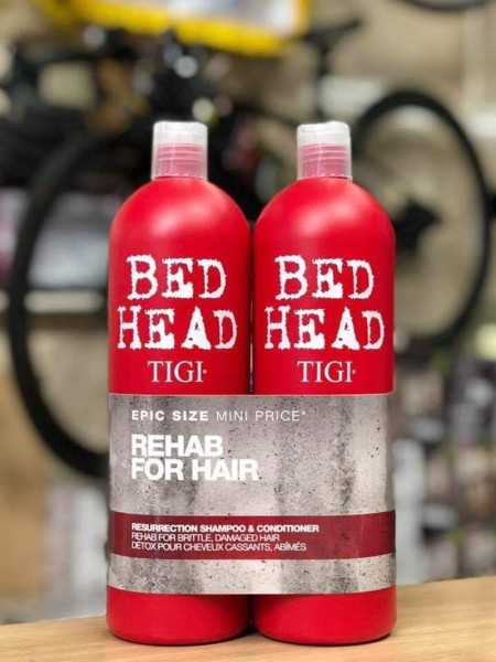 Cặp dầu gội BED HEAD TIGI URBAN ANTIDOTES Resurrection 750ml
