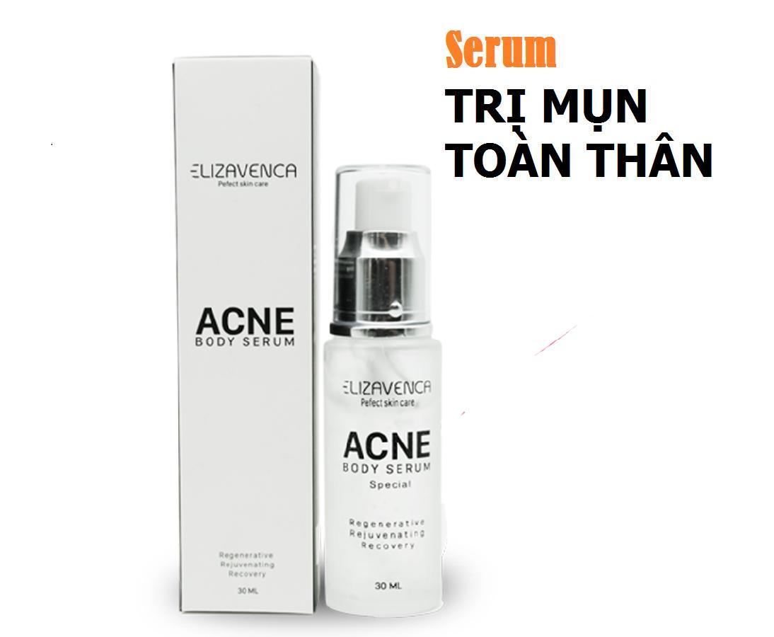 Serum đặc trị mụn toàn thân Elizavenca Acne Body Serum