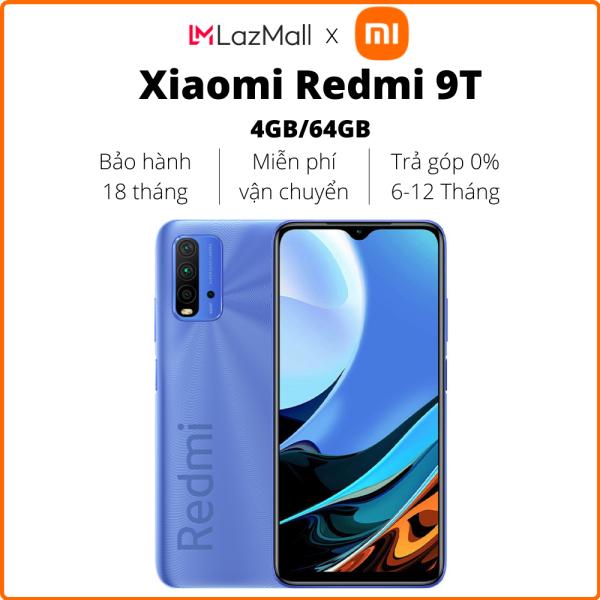 Điện thoại Xiaomi Redmi 9T (4GB/64GB) - Hàng chính hãng DGW - Trả góp 0%
