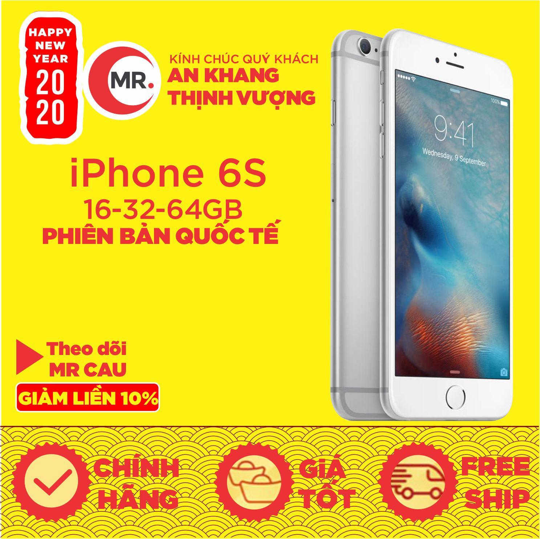 Điên thoại Apple iPhone 6S 16GB 32GB 64GB RAM 2GB QUỐC TẾ FullBox - Full Phụ Kiện Điện Thoại Smartphone...