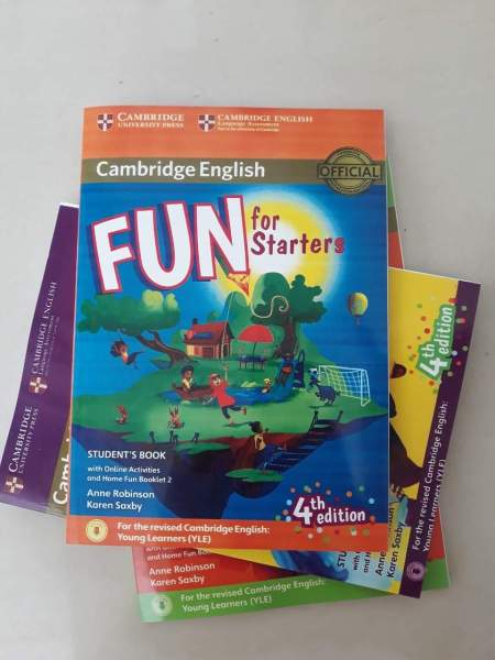 Sách Fun for starter students book bản 4th 2018 cho bé luyện thi