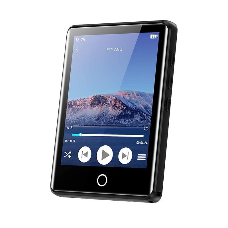 Máy nghe nhạc MP3 màn hình cảm ứng, hỗ trợ Bluetooth 5.0, gắn thẻ nhớ, có loa ngoài | Ruizu M6
