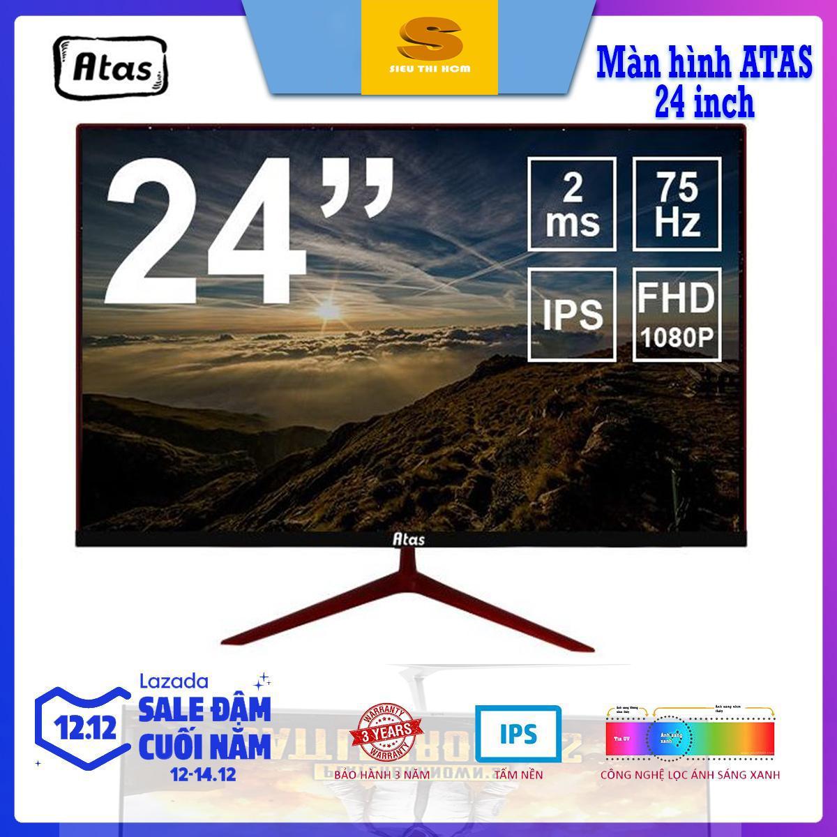 [Có video] Màn Hình Gaming ATAS MD240-A 24 Inch - Full HD 1080P – Tấm Nền IPS – Tần Số 75Hz - Bảo Hành 3 Năm