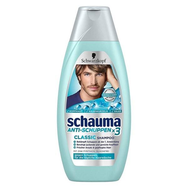 Dầu gội cho nam Schauma Anti-Schuppen x3 Classic giá rẻ