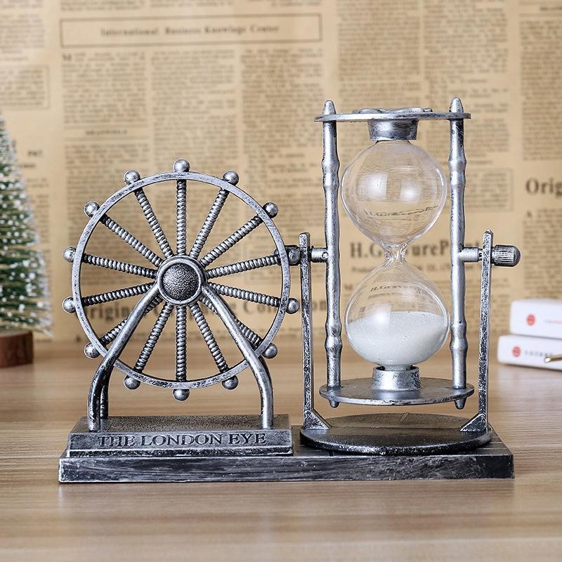 Nơi bán Đồng hồ cát bánh xe Ferris phong cách cổ điển, sang trọng - vật dụng trang trí bàn làm việc