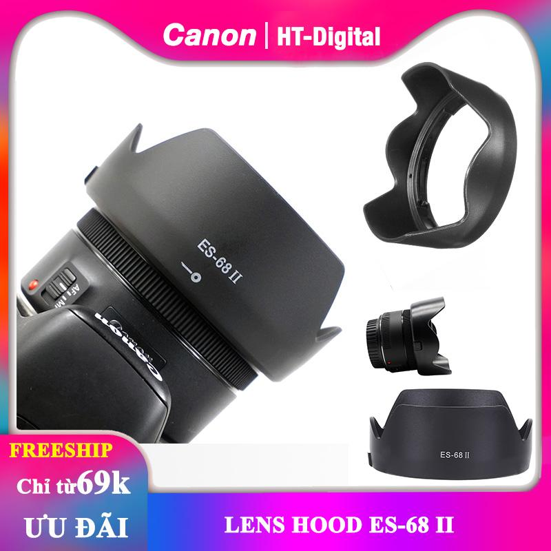 Lens Hood Cho ống Kính Canon 50mm F1.8 (Loa Che Nắng ES-68 II) Với Giá Sốc