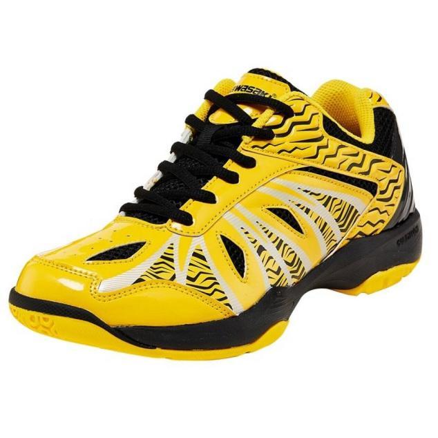 Giày cầu lông_bóng chuyền_thể thao Kawasaki K076 màu vàng đẳng cấp thời trang ,chất lượng cao, siêu bền, siêu mềm , đa dạng kiểu dáng dành cho nam và nữ giá rẻ